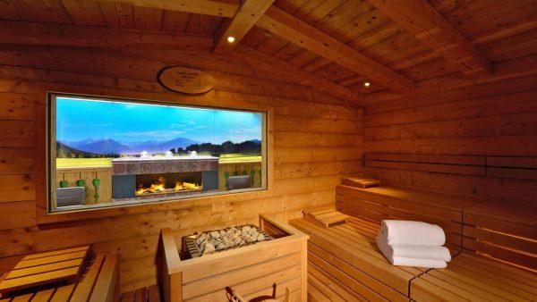 Silvester in die Sauna