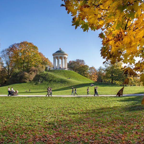 Die schönsten Parks und Gärten in München