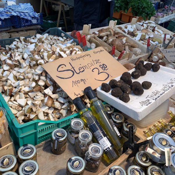 Pilze und Trüffel