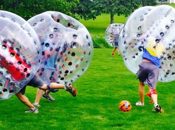 Bubble Soccer erobert die Sportwelt