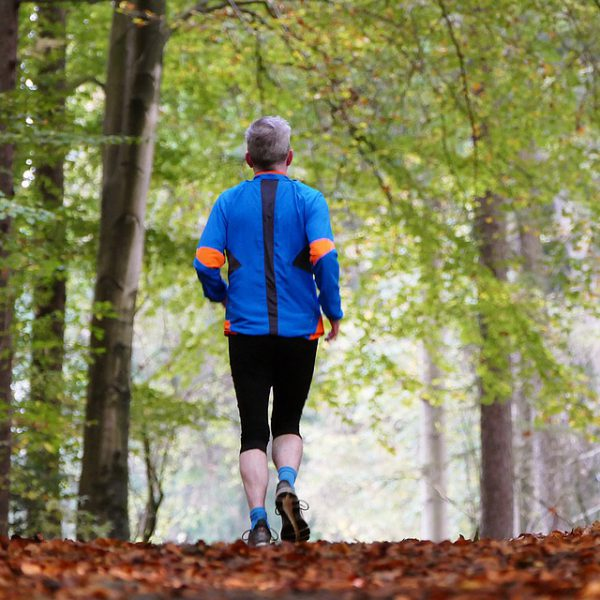 Laufen macht schlank!
