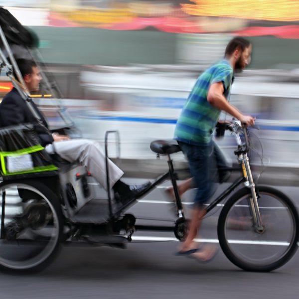 Stadtrundfahrt durch München mit dem Radltaxi