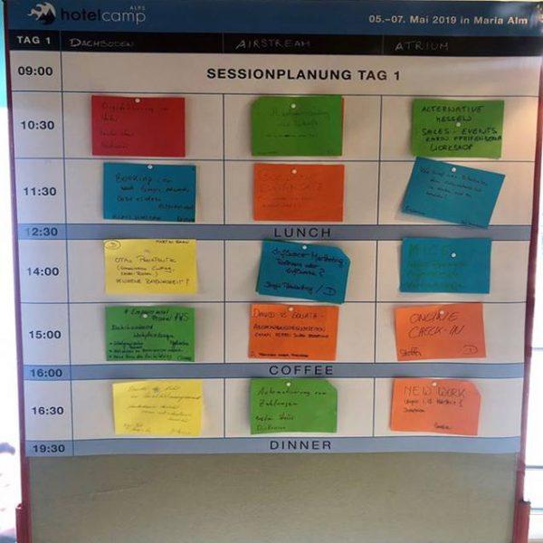 Das Barcamp in der Tagung? Konzept und Agenda für Interaktion!