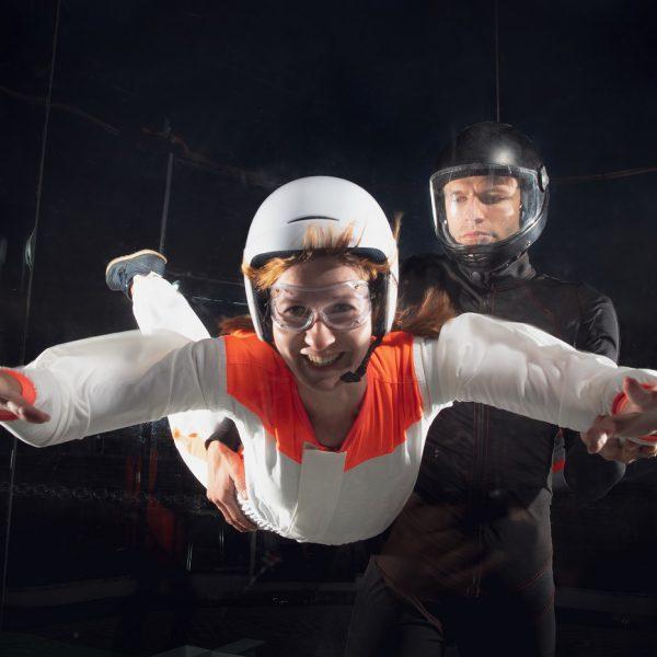 Ausflugstipp: Die Skydiving Anlage in der Jochen Schweizer Arena München